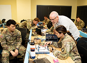 Cadets Complete Their Final Lab