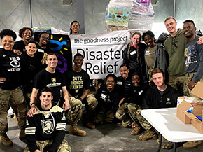 Cadets Enjoy Their Spring Break Helping Others