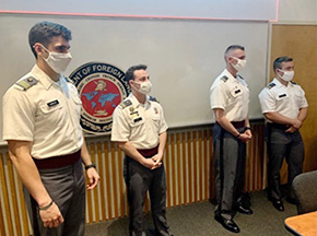 Cadets Examine the Role of Germans in Conflicts