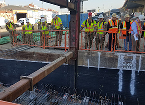 Cadets Learn Heavy Construction