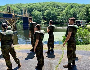 Cadets Overcoming Their Internal Fears