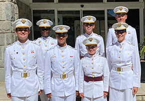 Cadets Present at the International Defense Conference in Spain