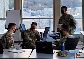 Cadets Simulate UN Security Council Negotiations