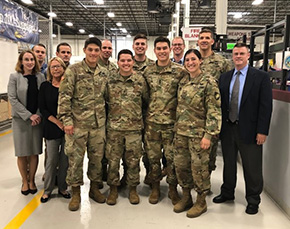 Cadets Tour Breeze Eastern