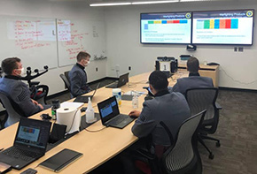 Cadets Update ERDC on Simulation Capstone