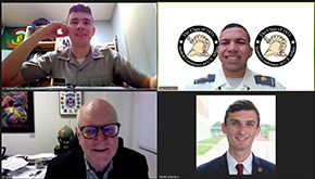 Cadets Virtually Attend SCONA