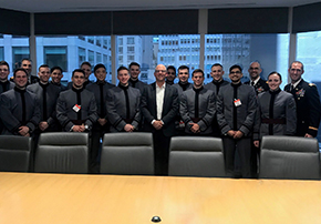 Cadets Visit NYC to Learn from Financial Services Leaders