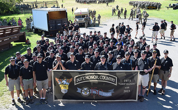 USMA 2023 Joined by Old Grads for March Back