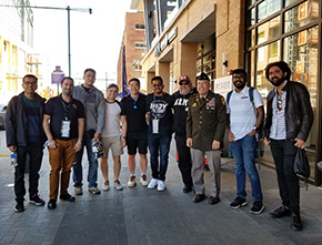 Class of 2021 2LT's Attend the Indianapolis 500