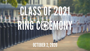Watch Live: Class of 2021 Ring Ceremony
