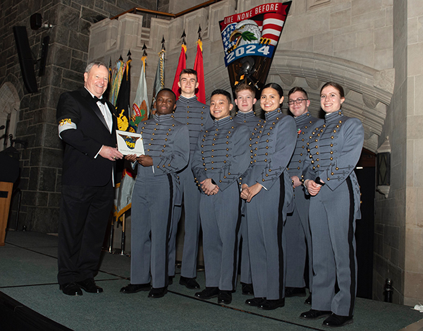 West Point Class Crest Unveiling