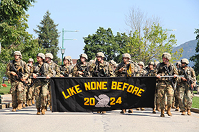 Class of 2024 March Back
