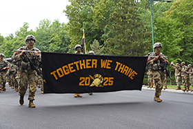 USMA Class of 2025 Marches Back
