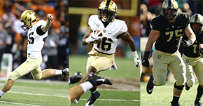 Cooper, Hancock, Sides Named to NFF Hampshire Honor Society