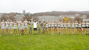 Cross Country Competes in Veterans Day Race on The Plain