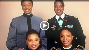 Daughters Follow Mother's Footsteps and Attend West Point