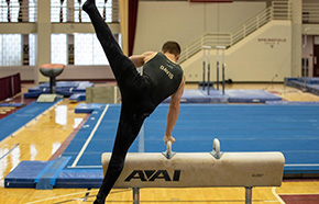 Davis Claims Second Consecutive ECAC Gymnast of the Week Honor