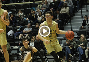 Firstie Captains Propel Men's Basketball Over Lehigh