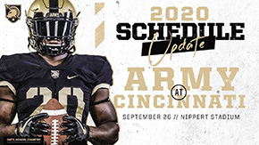 Football Adds No. 20 Cincinnati to 2020 Schedule