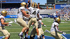 Football Defeats Georgia State, Monken Earns 50th Win at Army