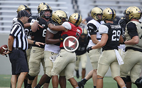 Football Getting Set for Opener with Second Scrimmage