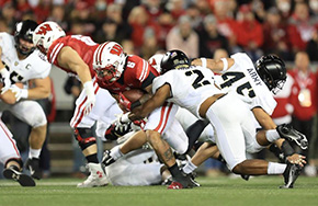 Football's Defense Stands Tall In First-Ever Matchup Against Wisconsin