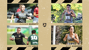 Four Cadets Named CEP Scholar-Athletes for October