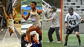 Four Cadets Tabbed CEP Athletes of March