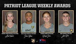 Four Cadets Win Weekly Honors