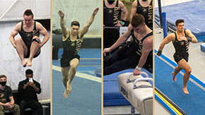 Four From Men's Gymnastics Earn All-ECAC Honors