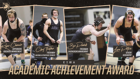 Four Wrestlers Receive EIWA Academic Achievement Awards