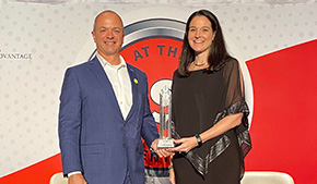 Westerlund '87 Awarded October Research Leadership Award