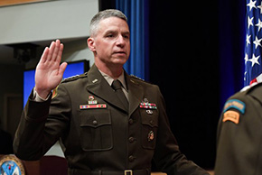 GEN Martin '86 Sworn in as Vice Chief of Staff