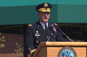 GEN McConville '81 Becomes Army Chief of Staff