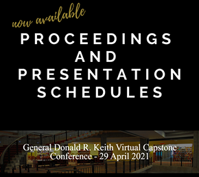 General Donald R. Keith Virtual Capstone Conference