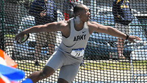 Gibson Represents Army on Third Day at NCAA East Prelim