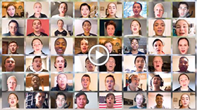 """O What a Beautiful City"" – West Point Glee Club Virtual Choir"