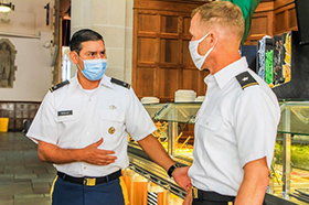 Go for Green Plan Changes the Way Cadets Will Eat