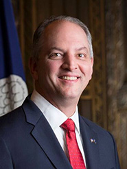 Gov. John Bel Edwards '88 Sworn in for a Second Term