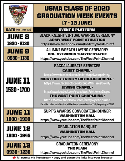 Looking for the Grad Week Events?