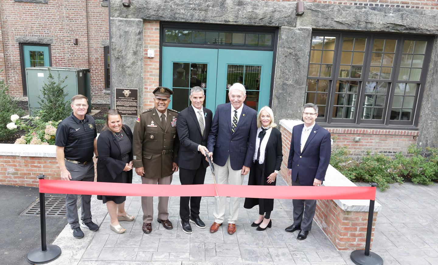 West Point Anderson Athletic Center Ribbon Cutting Ceremony