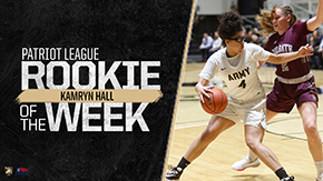Hall Earns Third Rookie of the Week Honor