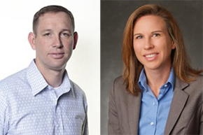 Kara & Heath Bates '96 Promoted at Boston Scientific