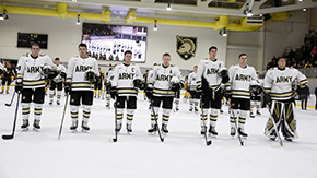 Hockey Clinches Fourth Seed for AHA Tournament