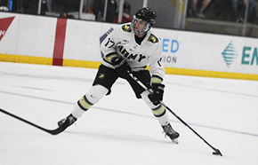 Hockey Picks Up Two Points in Shootout Win Over RIT