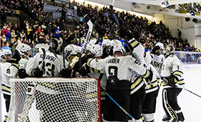 Hockey Sings Second, Defeats Air Force 5-2