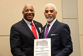 Noble '88 Receives Judicial Excellence Award