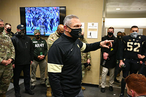 Jeff Monken Press Conference: West Virginia