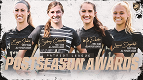 Johns, Padon and Cassalia Dominate Postseason Patriot League Honors