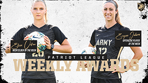 Johns, Urkov Earn Patriot League Weekly Honors